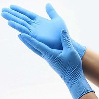 Disposable Soft Industrial Powder-free And Nitrile Free Rubber Work Gloves For Cleaning
