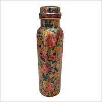 Designer Print Copper Bottle