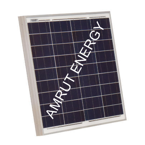 AMRUT Poly Crystalline 40W Solar Panel