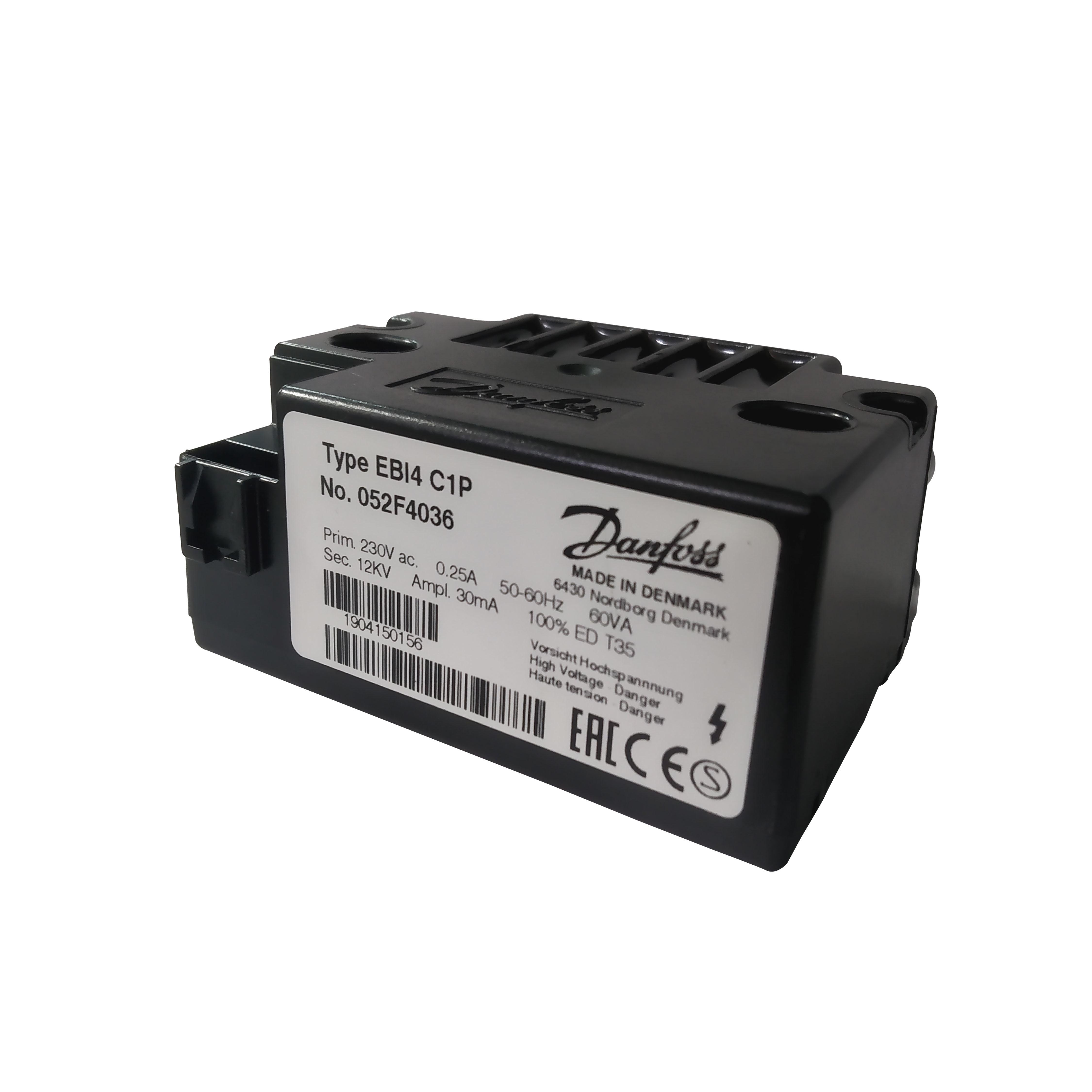 Danfoss Ebi4 C1p Ignition Transformer (052f4036)