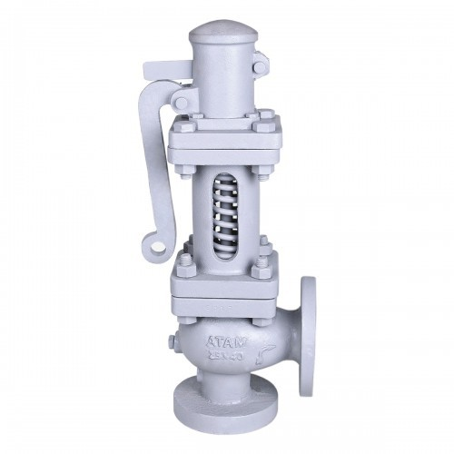 Cast Carbon Steel Full-Lift Safety Valve (Flanged Ends)