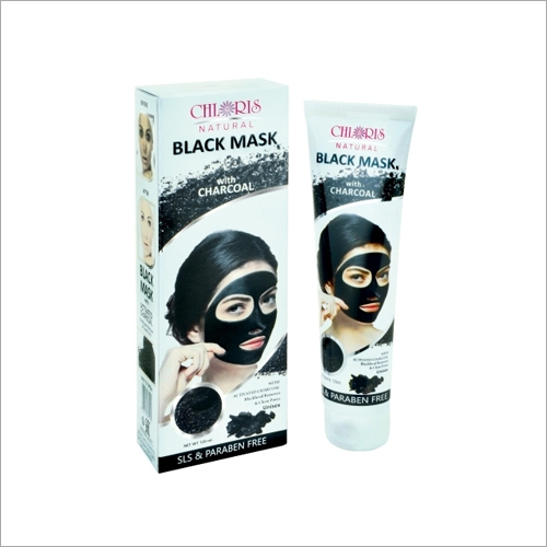 Black Mask With Charcoal