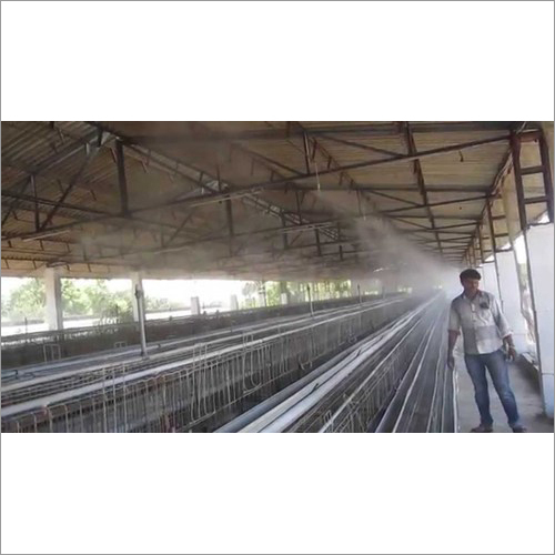 Industrial Automatic Misting System