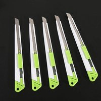 9mm Auto Lock Utility Knife Snap Off Blade Box Cutter