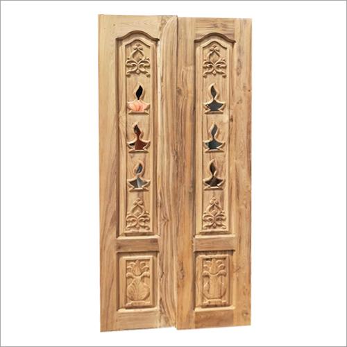 Pooja Room Wooden Door