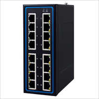 Industrial 16-Port Unmanaged Fast-Ethernet