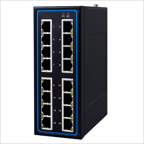 Industrial 8-Port Unmanaged 24V PoE Gigabit Switch