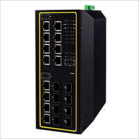 Industrial Managed Layer-3 Gigabit POE Switch