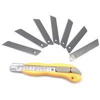 18mm Multi-function Heavy Duty Paper Smooth Sliding Utility Cutter Knife