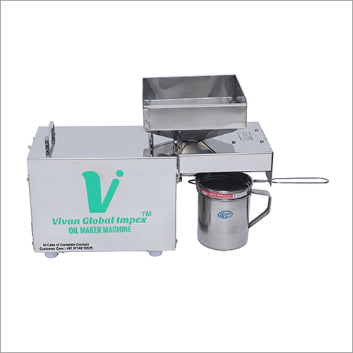 Cooking Organic Oil Extractor Machine