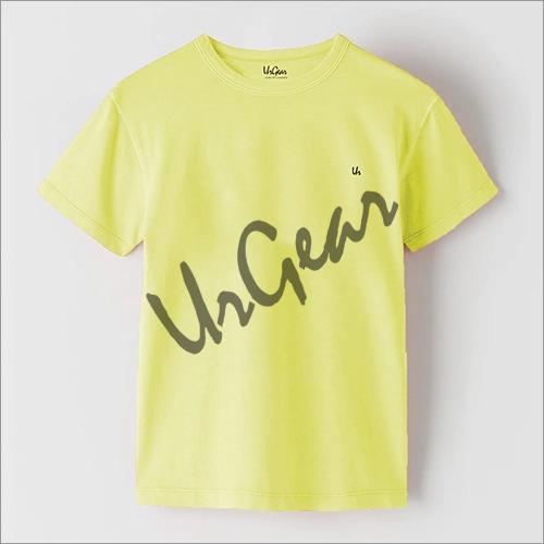 Kids Organic Cotton Plain T-Shirt