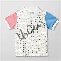 Kids Cotton Collar Neck Shirt