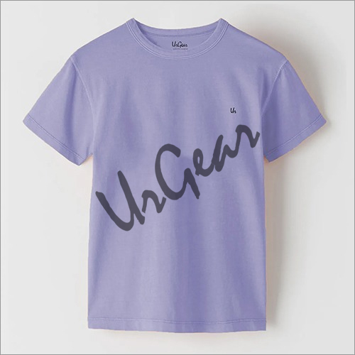 Kids Dyed Round Neck T-Shirt