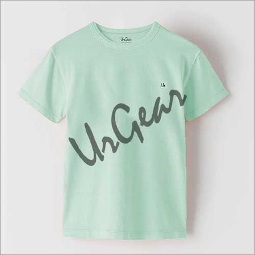 Kids Plain Neck T-Shirt