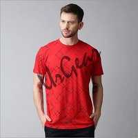 Mens Cotton Half Sleeve T-Shirt