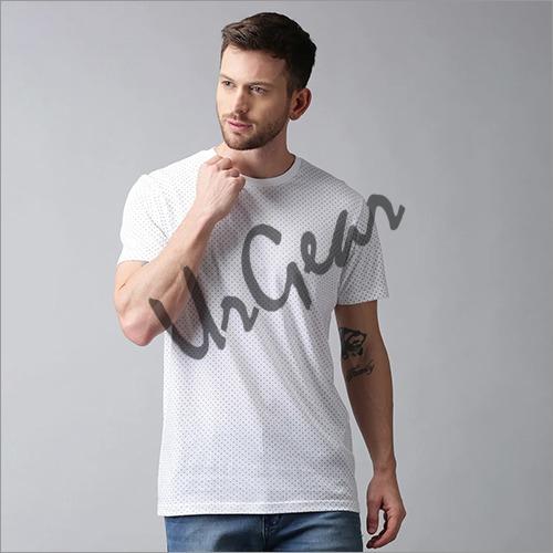 Mens Cotton Plain T-Shirt