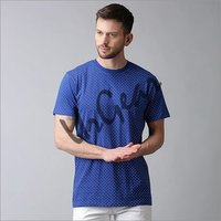 Mens Cotton Round Neck T-Shirt