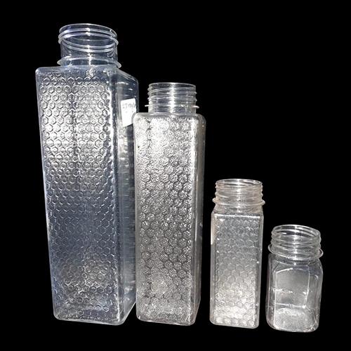 Honeycomb Design Honey Jars