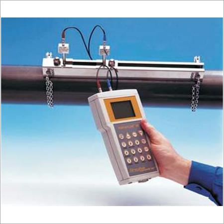 Ultrasonic Portable water flow meter