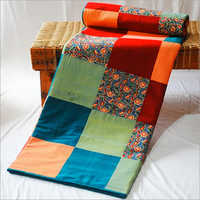 Mangalgiri Printed Cotton Double Bed Quilt