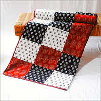 Printed Cotton Single Bed Quilt