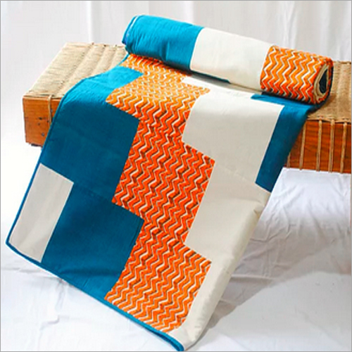 Tangerine Single Bed Quilt
