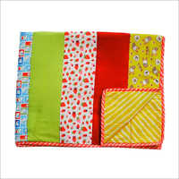 Yellow Hare Strawberry Cat Stripes Quilt