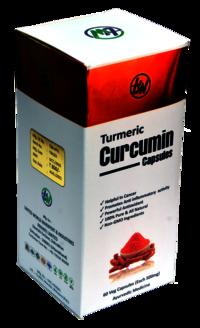 500 mg Turmeric Capsules