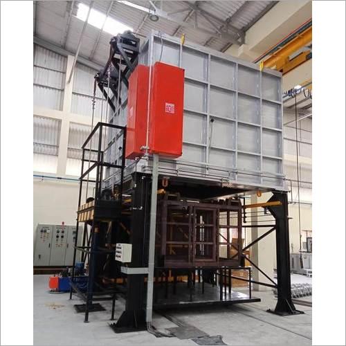 Drop Bottom Quench Furnace Application: Aluminum
