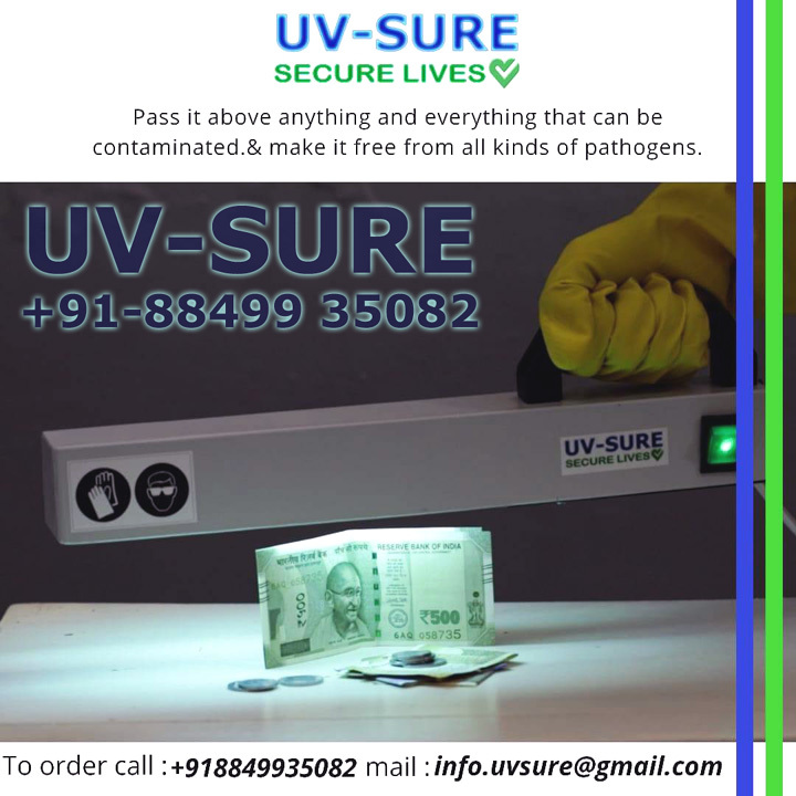 UV Surface And Air Sterilization And Disinfection