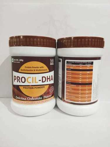 PROTEIN POWDER WITH MULTIVITAMIN & DHA