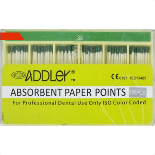 Point No 35 4 Percent Addler Absorbent Paper