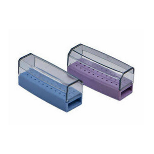 Addler Autoclavable Colorful Plastic Dental Bur Box for Diamond Burs