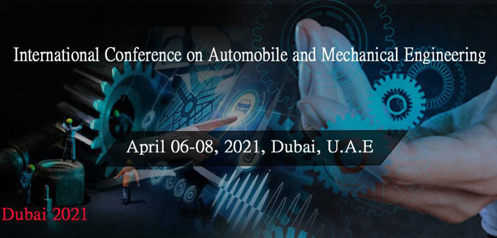 International Conference on Automobile and Mechanical Engineering (AMME)International Conference On Automobile And Mechanical Engineering (Amme)