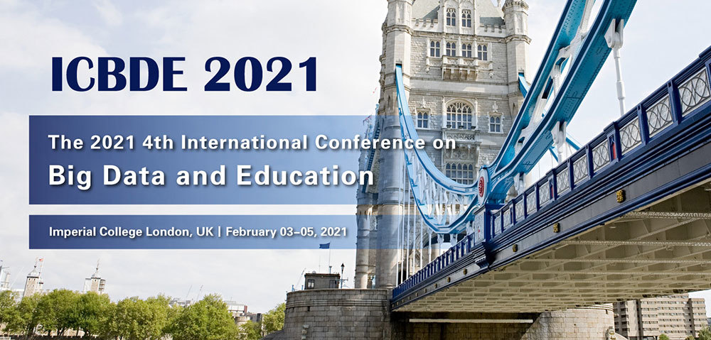 The 2021 4th International Conference On Big Data And Education (Icbde 2021)