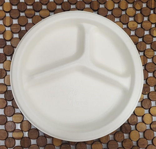 Biodegradable 9'' 3CP Plate