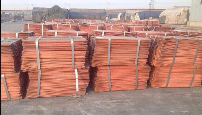 Wholesale Copper Cathodes Plates 99.99% LME Copper Cathodes Sheets supplier