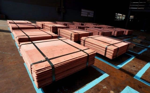 99.99% Pure Electrolytic Copper Cathode