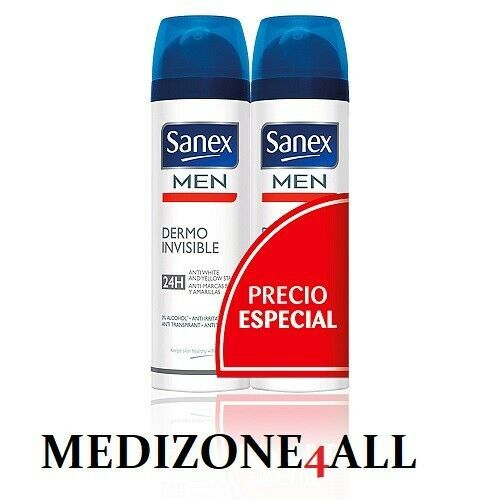 Sanex Men Dermo Invisible Anti Stains, 150 ml