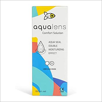 Aqualens Contact Lenses Comfort Solutions 180 Ml
