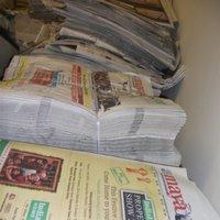 Old Newspapers Scrap