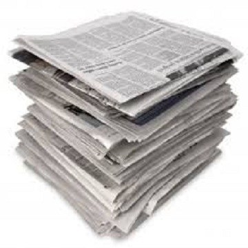 Over Issued News Paper