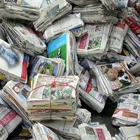 Waste News Paper Scrap