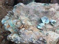 Top Quality Natural Raw High Purities Native Copper Ore Cu90% Mineral Specimen
