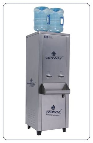 CONWAY BWD 125 STAINLESS STEEL COMMERCIAL BOTTLE WATER DISPENSER - NORMAL & COLD