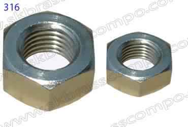 Brass Nut Bolt and Washers