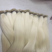 Fashionable Blonde Human Hair Extension