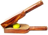 Wooden Lemon Squeezer