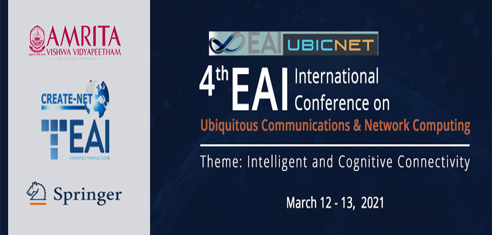 Eai Ubicnet 2021 - 4th Eai International Conference On Ubiquitous Communications And Network Computing