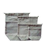 Jute Window Drawstring Bags